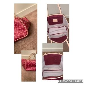 Coach Bags - Coach tote with matching coin purse